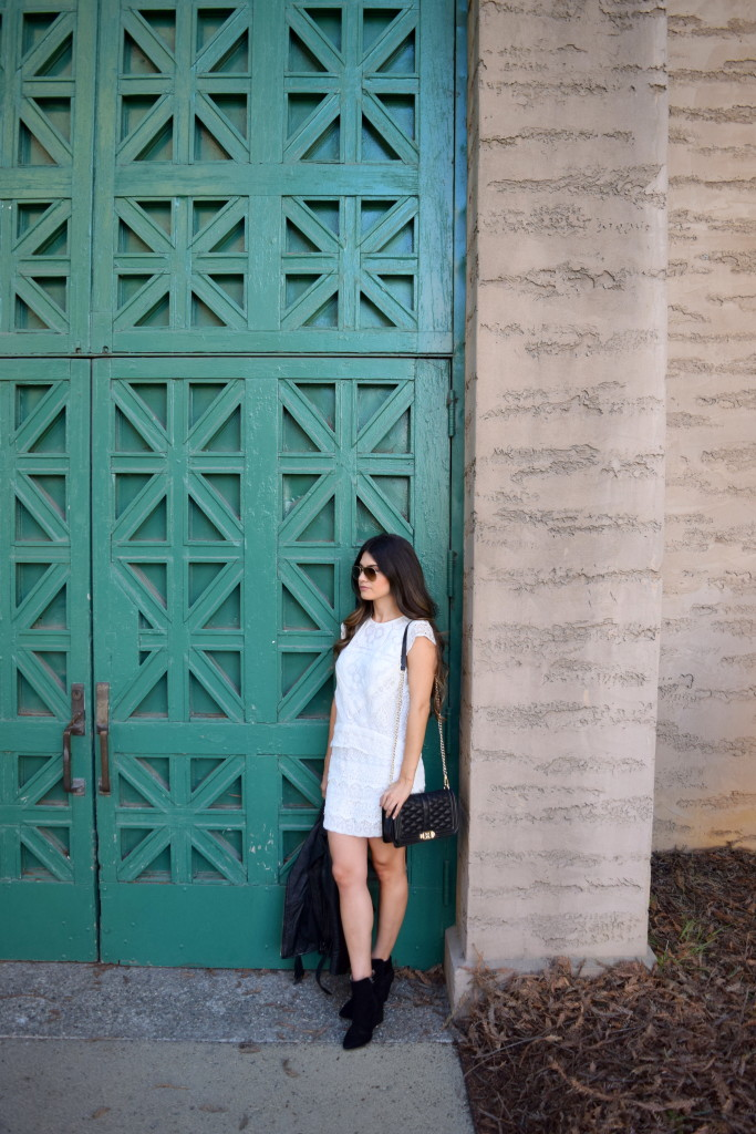 green door