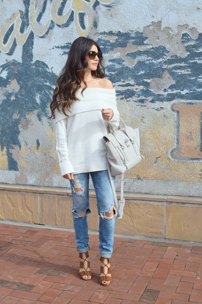 off-shoulder-sweater-white