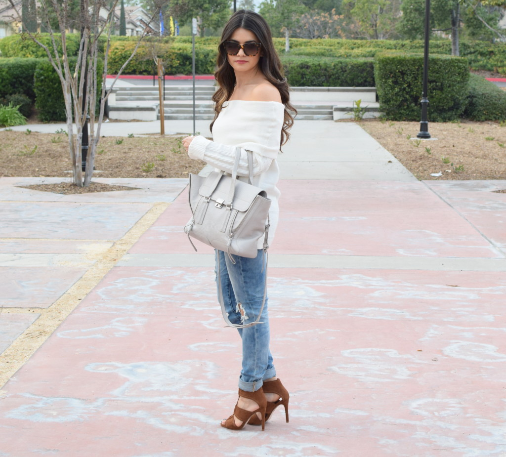 white-off-shoulder-sweater-outfit