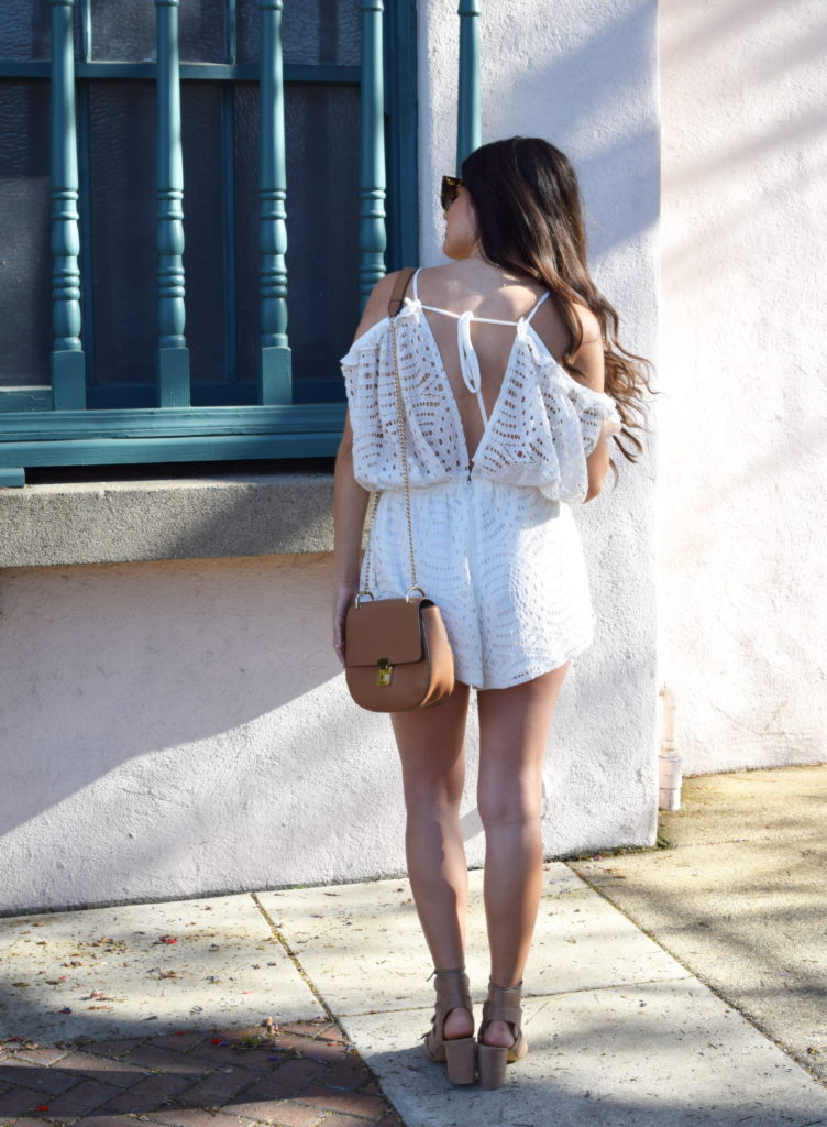cold-shoulder-white-lace-romper