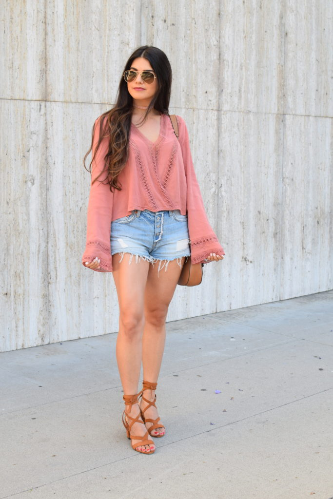 rose-bell-sleeve-top