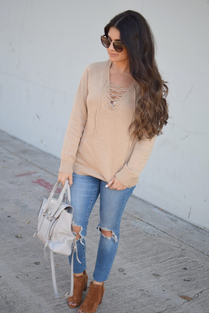 beige-lace-up-sweater