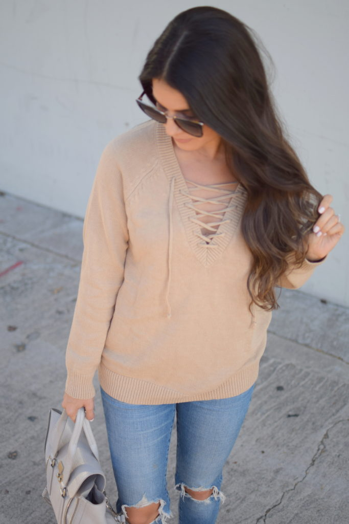 lace-up-sweater-camel-1