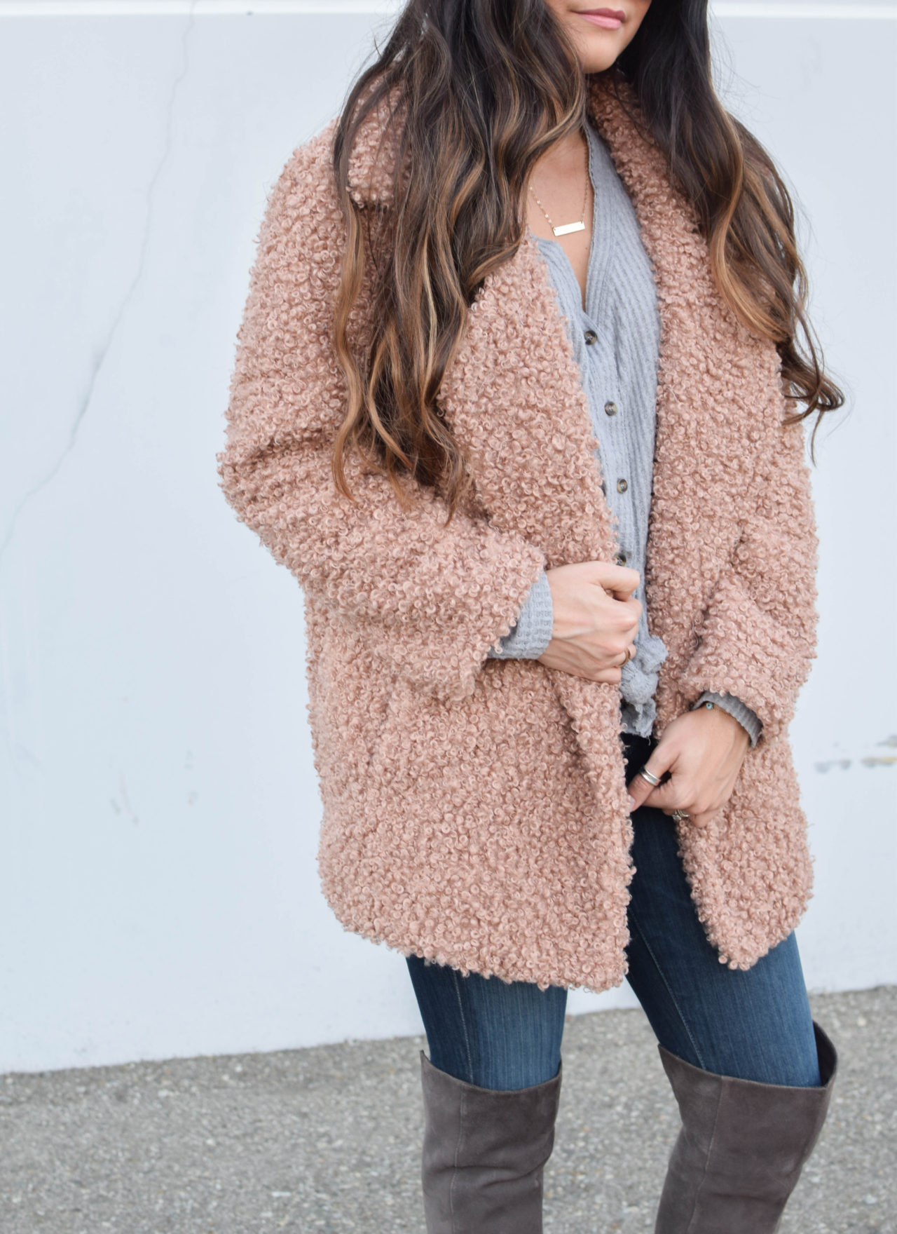 Teddy Coat + Winter Sales